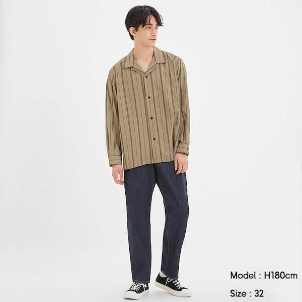 レギュラージーンズの画像