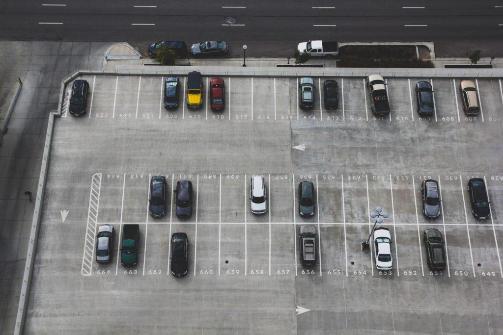駐車場の画像